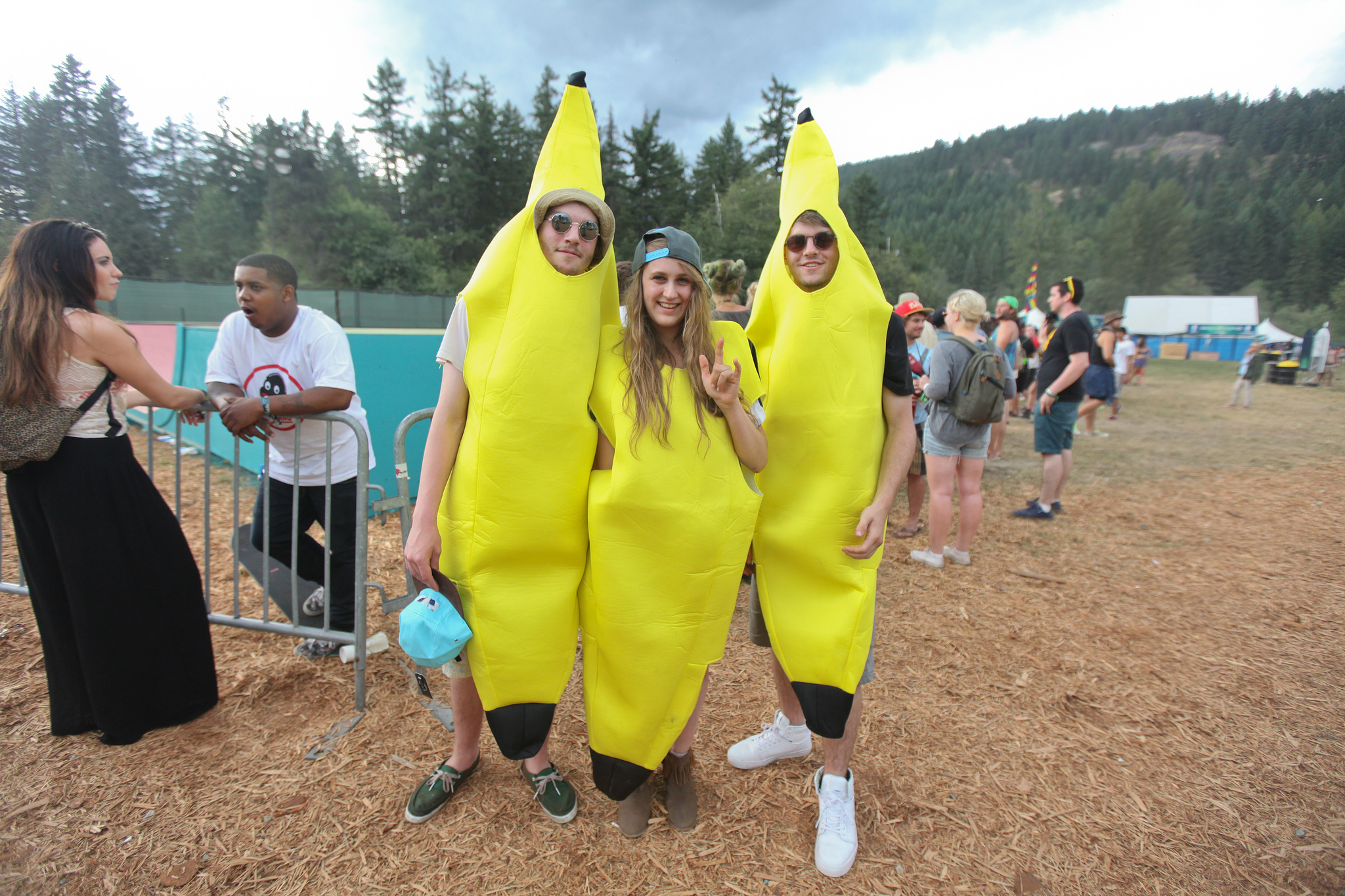 bananas The 30 Types of People You Will Definitely See at Every Music Festival