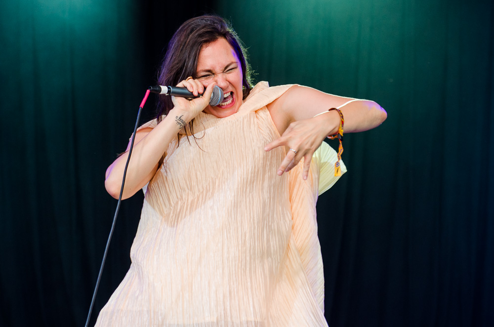 Tanya Tagaq // Photo by Ben Kaye