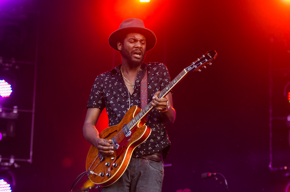 Gary Clark Jr. // Photo by Ben Kaye