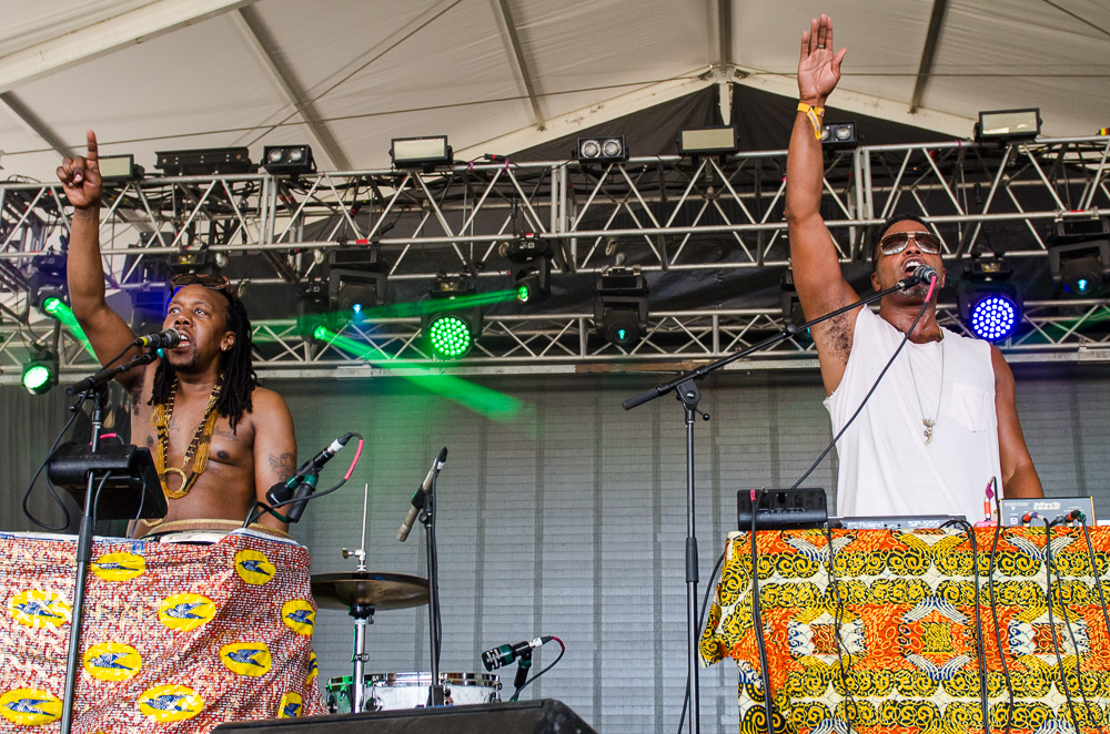 Shabazz Palaces // Photo by Ben Kaye
