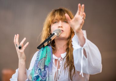 Florence and the Machine // Photo by David Brendan Hall