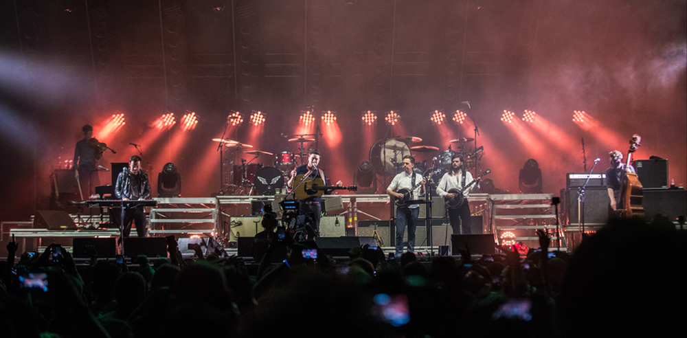 Mumford and Sons // Photo by David Brendan Hall
