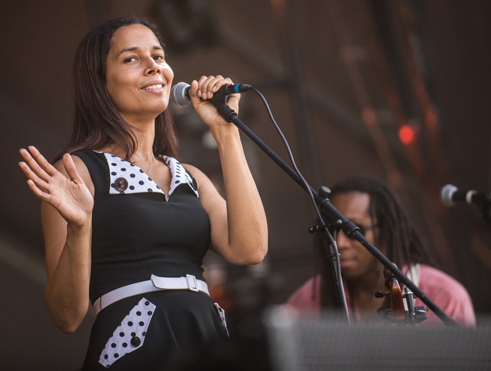 Rhiannon Giddens // Photo by David Brendan Hall