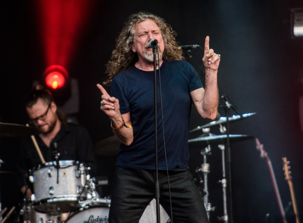 Robert Plant // Photo by David Brendan Hall