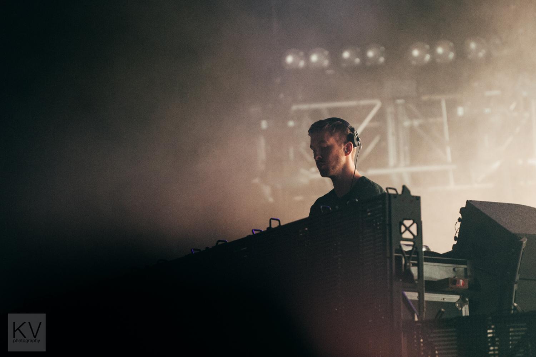 Calvin Harris // Photograph by Clarissa Villondo