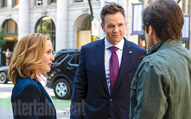 joel mchale FOX shares first images, plot details of The X Files new season