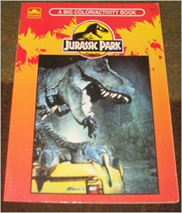 jp coloring book When Did You First See Jurassic Park?