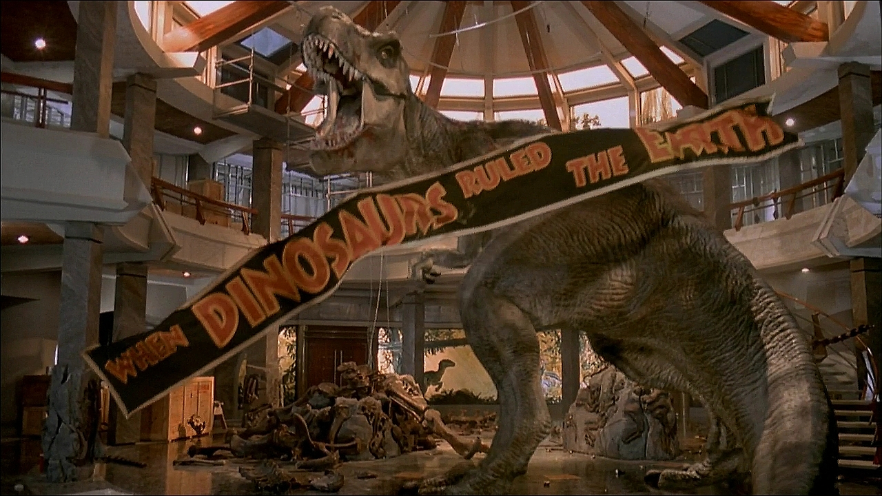 jurassic park 3d t rex When Did You First See Jurassic Park?