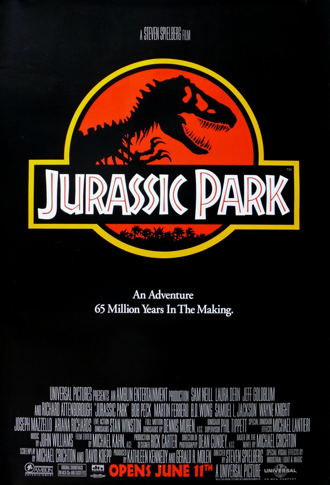 jurassic park poster When Did You First See Jurassic Park?