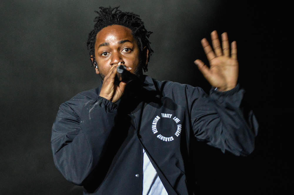 Kendrick Lamar // Photo by Amanda Koellner