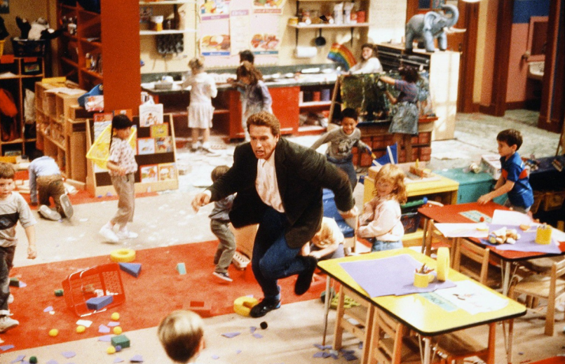 kindergarten cop Arnold Schwarzeneggers Top 10 Performances