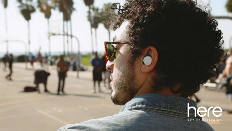 These earbuds allow you to control the EQ of live music