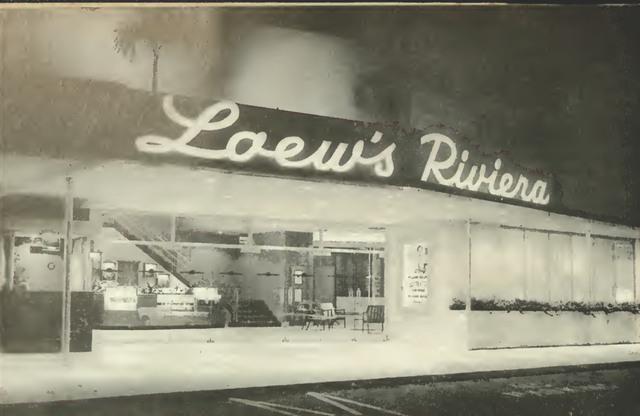 Loew's Riviera, Coral Gables, FL.