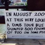 Dave Matthews poop