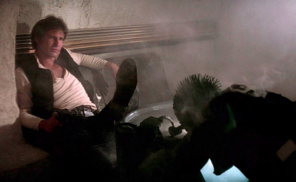 Newly Unearthed Star Wars Script Proves Han Solo Shot First Consequence Of Sound