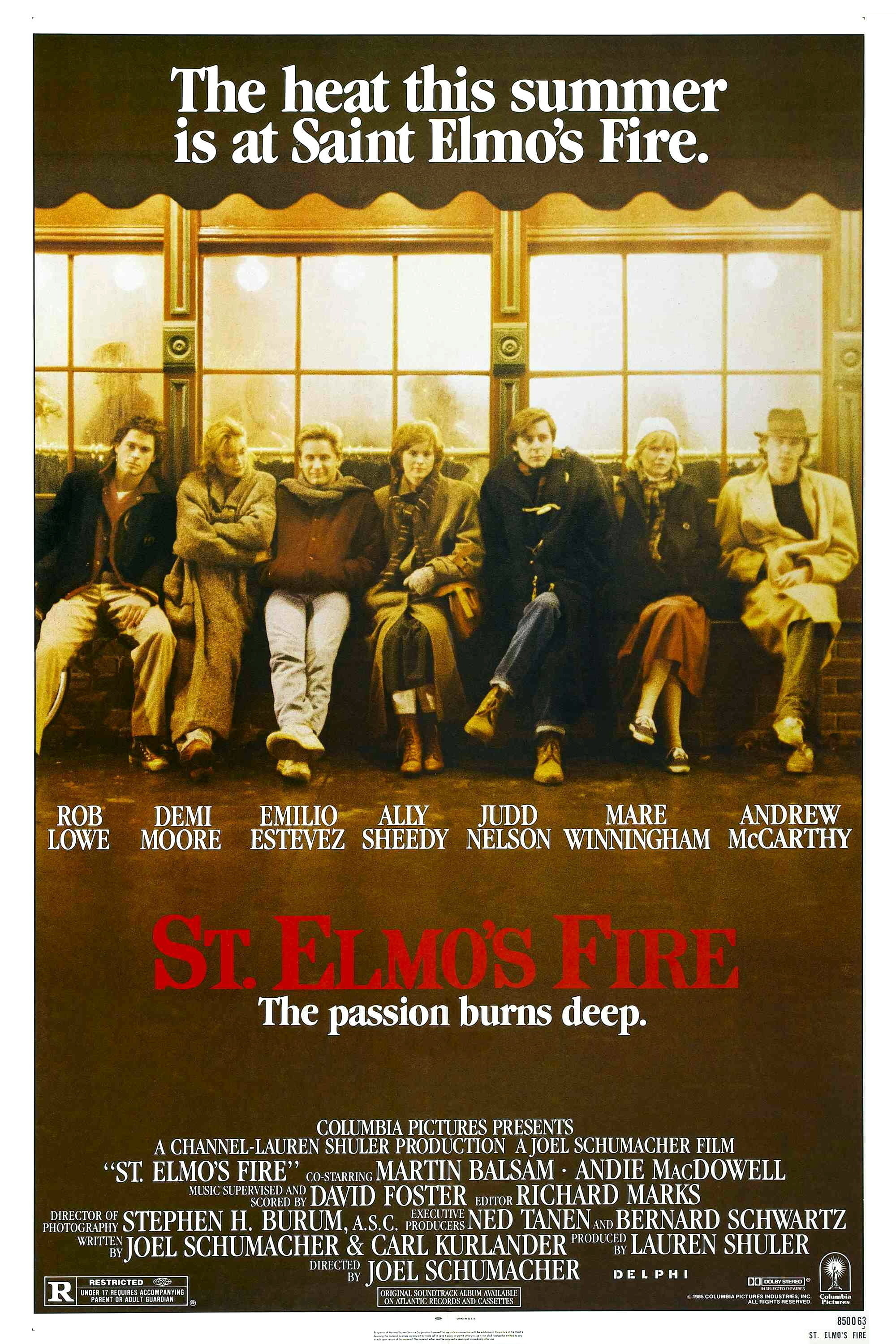 stelmosfire St. Elmos Fire Might Be the Worst Movie Ever