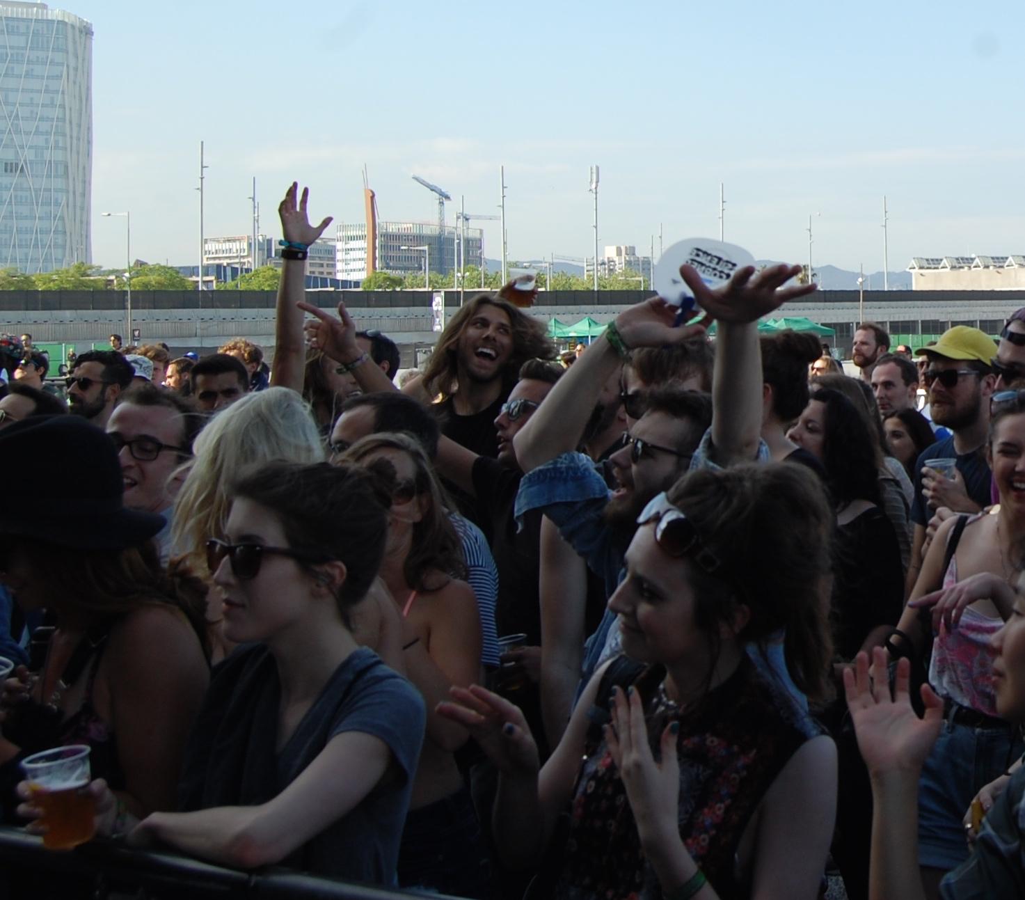 Sylvan Esso Crowd // Photo by Adam Kivel