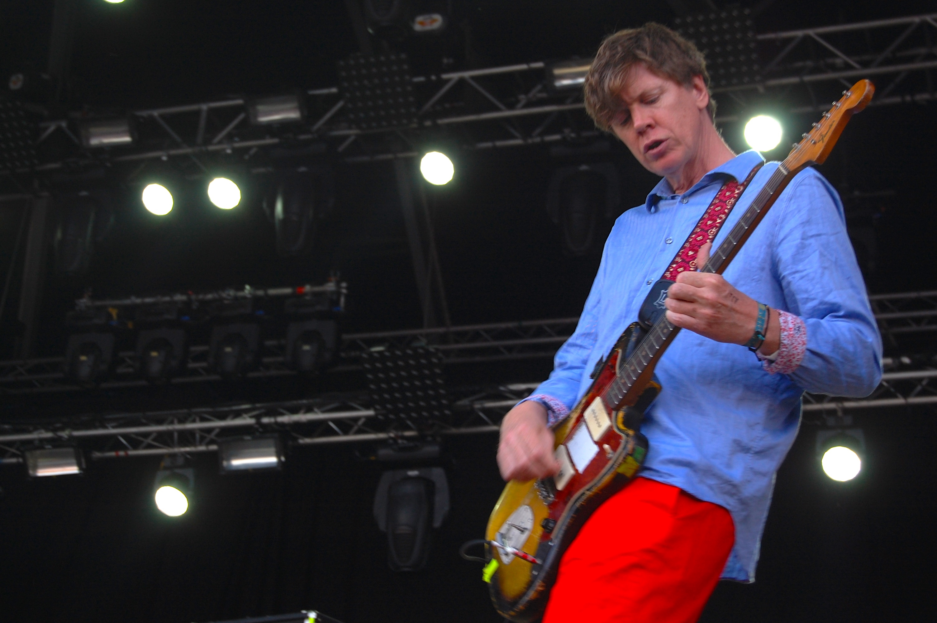 The Thurston Moore Band // Photo by Adam Kivel