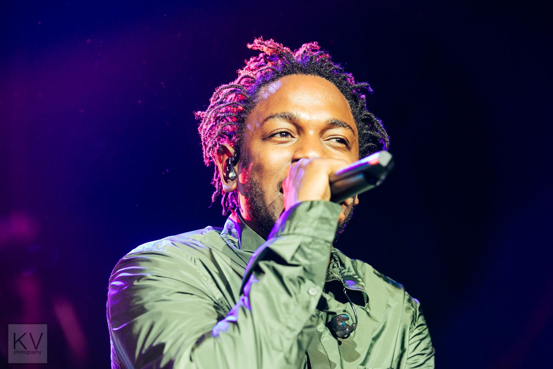 Kendrick Lamar // Photograph by Clarissa Villondo