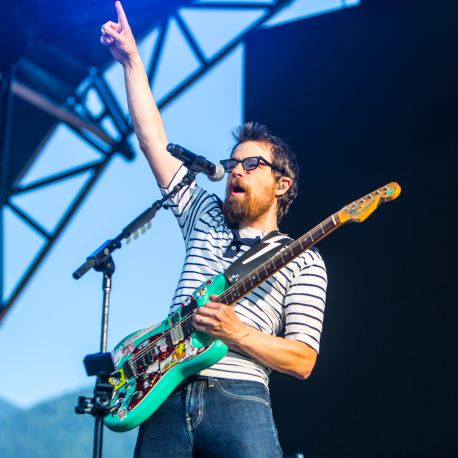 Weezer // Photo by Philip Cosores