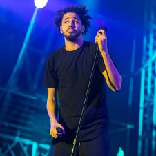 J. Cole // Photo by Philip Cosores