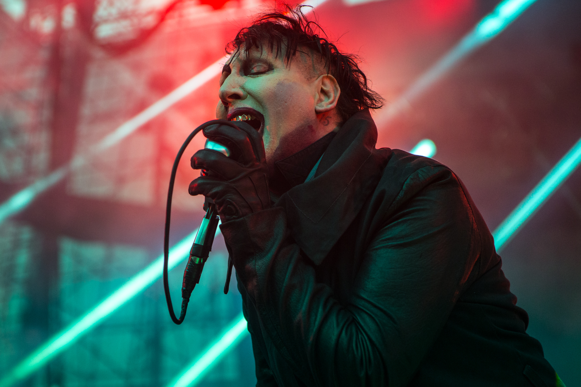 Marilyn Manson // Photo by Philip Cosores