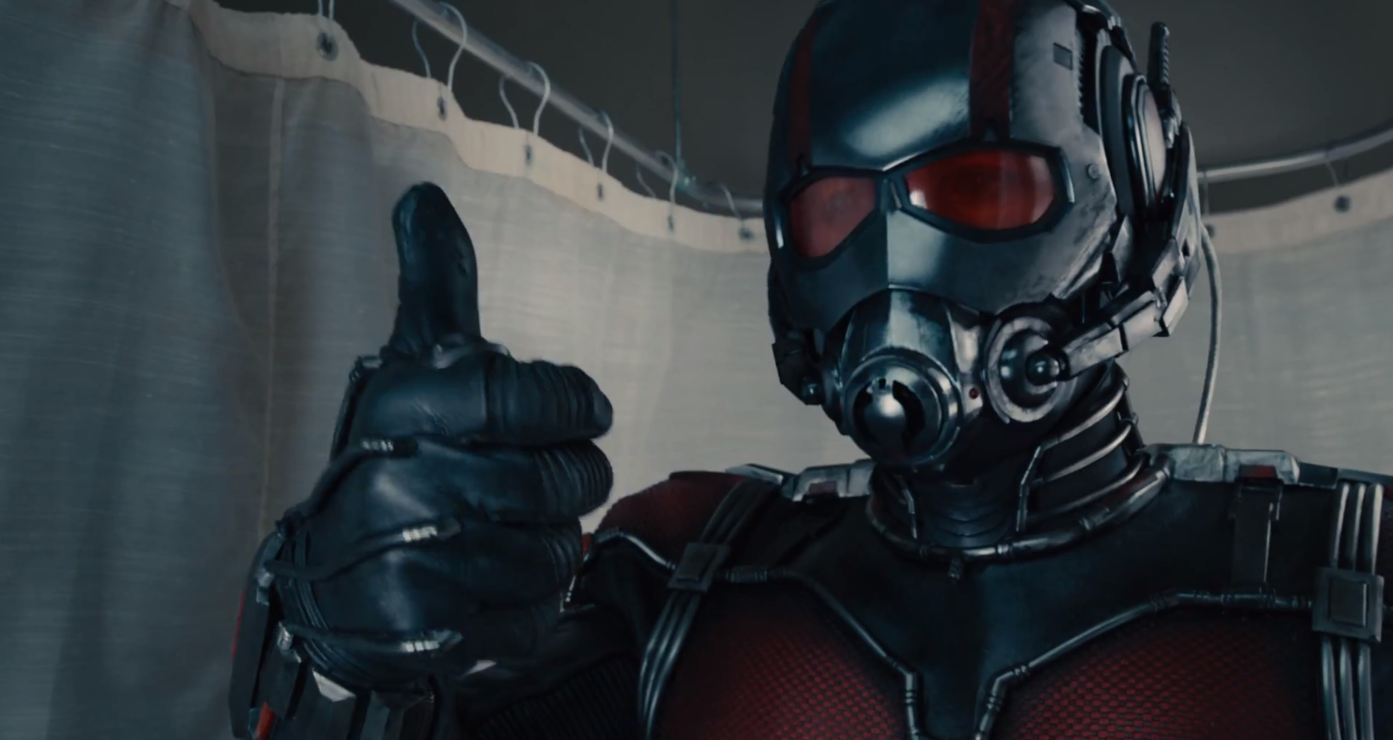 antman thumbs up Wait, What the Hells an Ant Man?