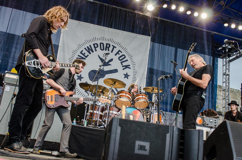 ben kaye newport folk fest roger waters 7 Ben Kaye Newport Folk Fest Roger Waters 7