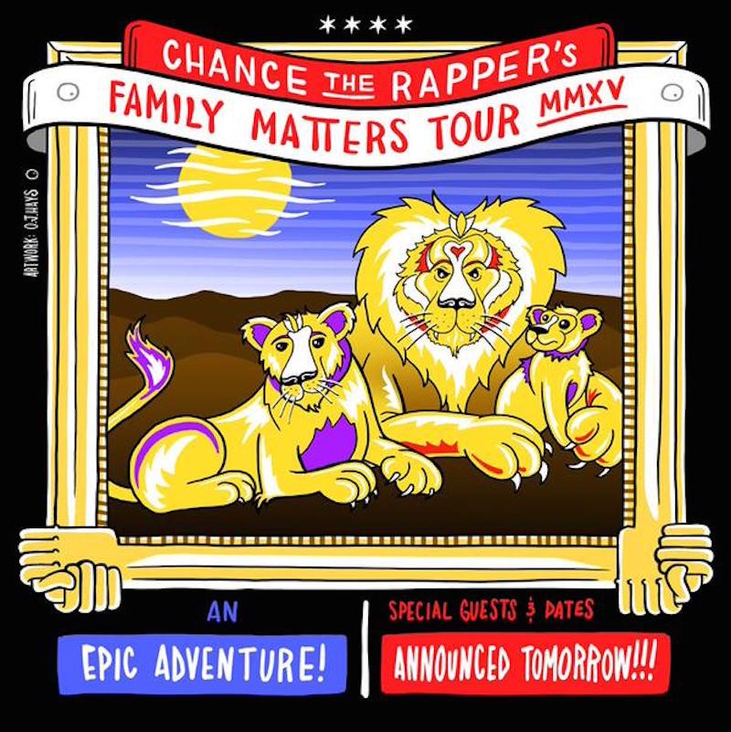 Chance the Rapper announces Family Matters Tour