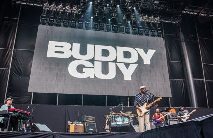 Buddy Guy // Photo by David Brendan Hall