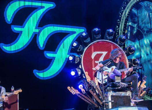 Foo Fighters // Photo by David Brendan Hall