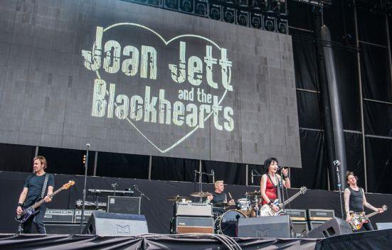 Joan Jett and the Blackhearts // Photo by David Brendan Hall