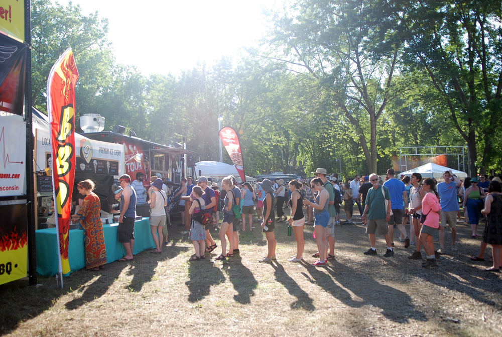 Festival Grounds Food Line_Amanda Roscoe Mayo