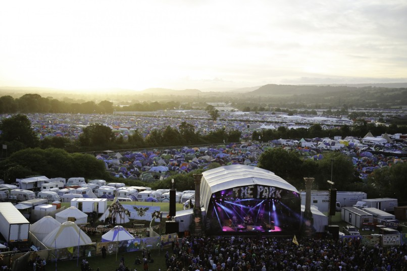 Glastonbury Festival 2015, Somerset, Britain -26 June 2015
