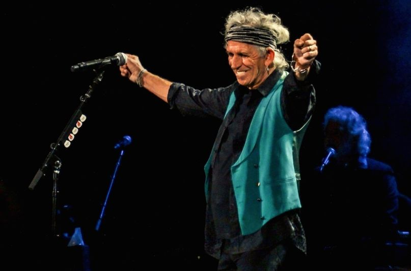 Keith Richards announces new solo album CROSSEYED HEART