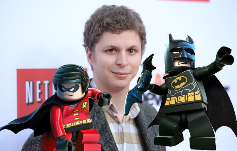 Michael Cera to voice Robin in The LEGO Batman Movie ...