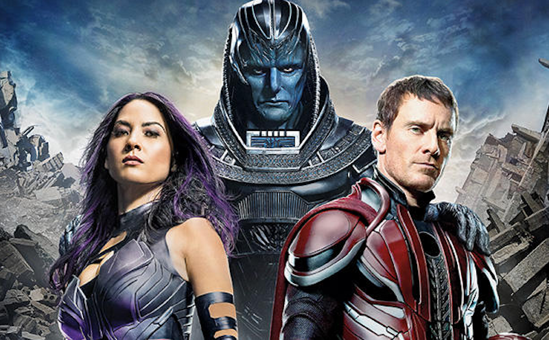 Apocalypse rises, Psylocke stuns in new image from X-Men: Apocalypse