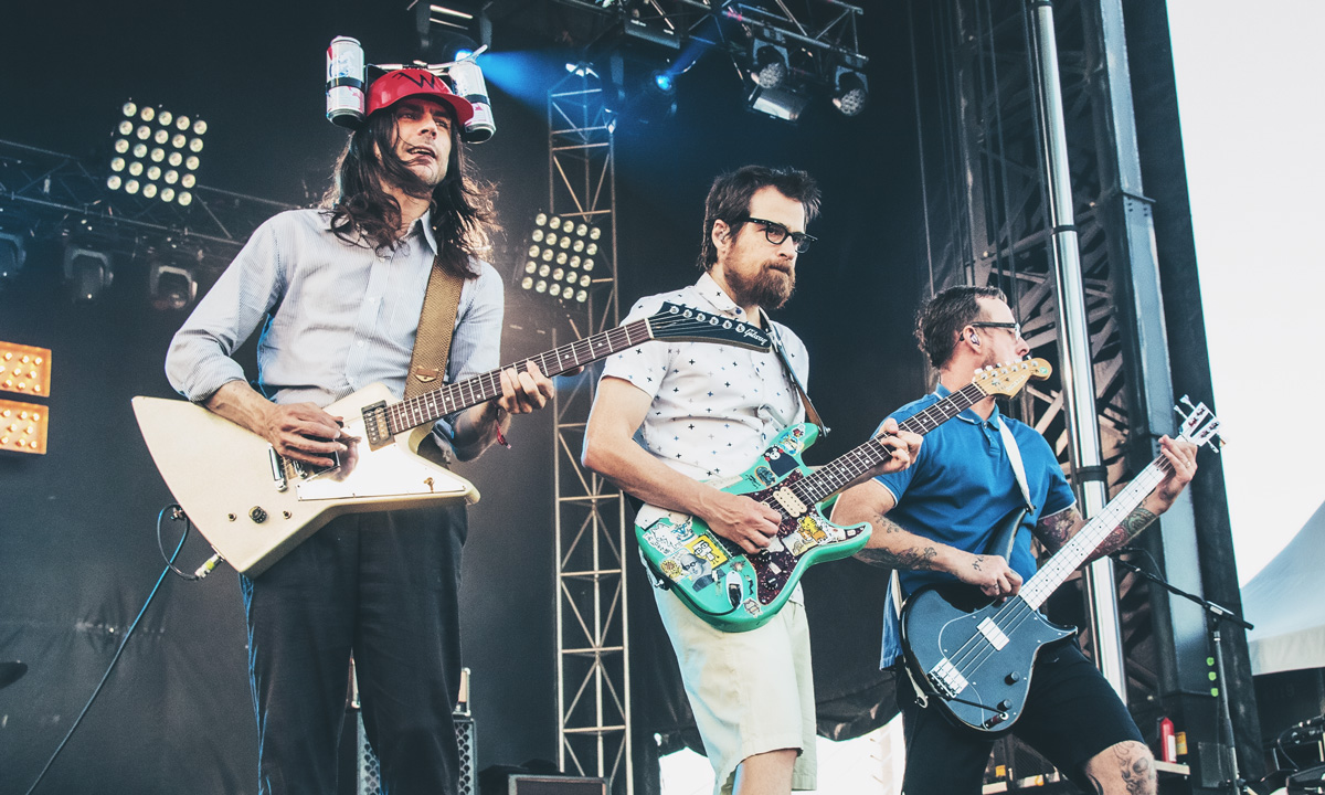 Weezer // Photo by Autumn Andel