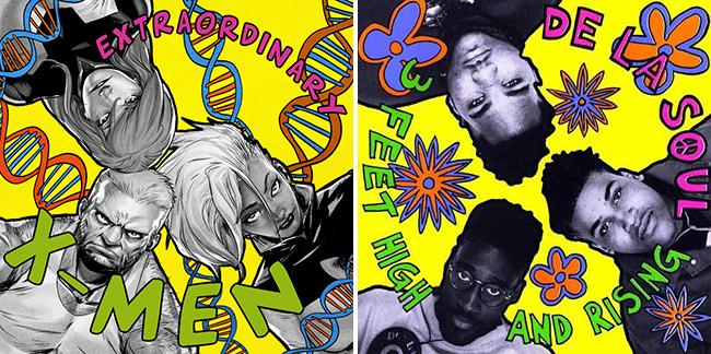 x men de la soul Marvel reimagines famous rap albums with comic book characters