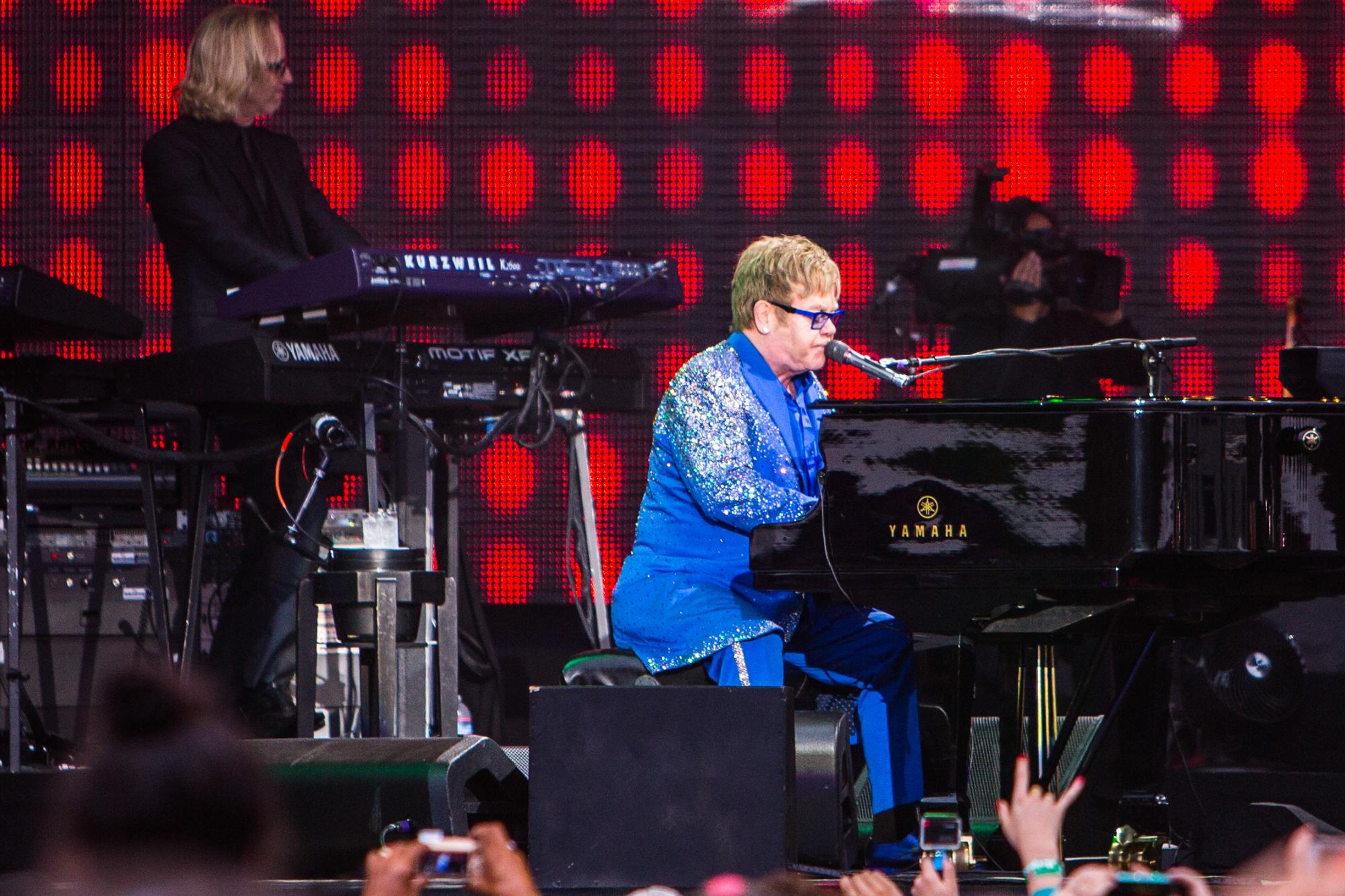 Elton John // Photo by Philip Cosores