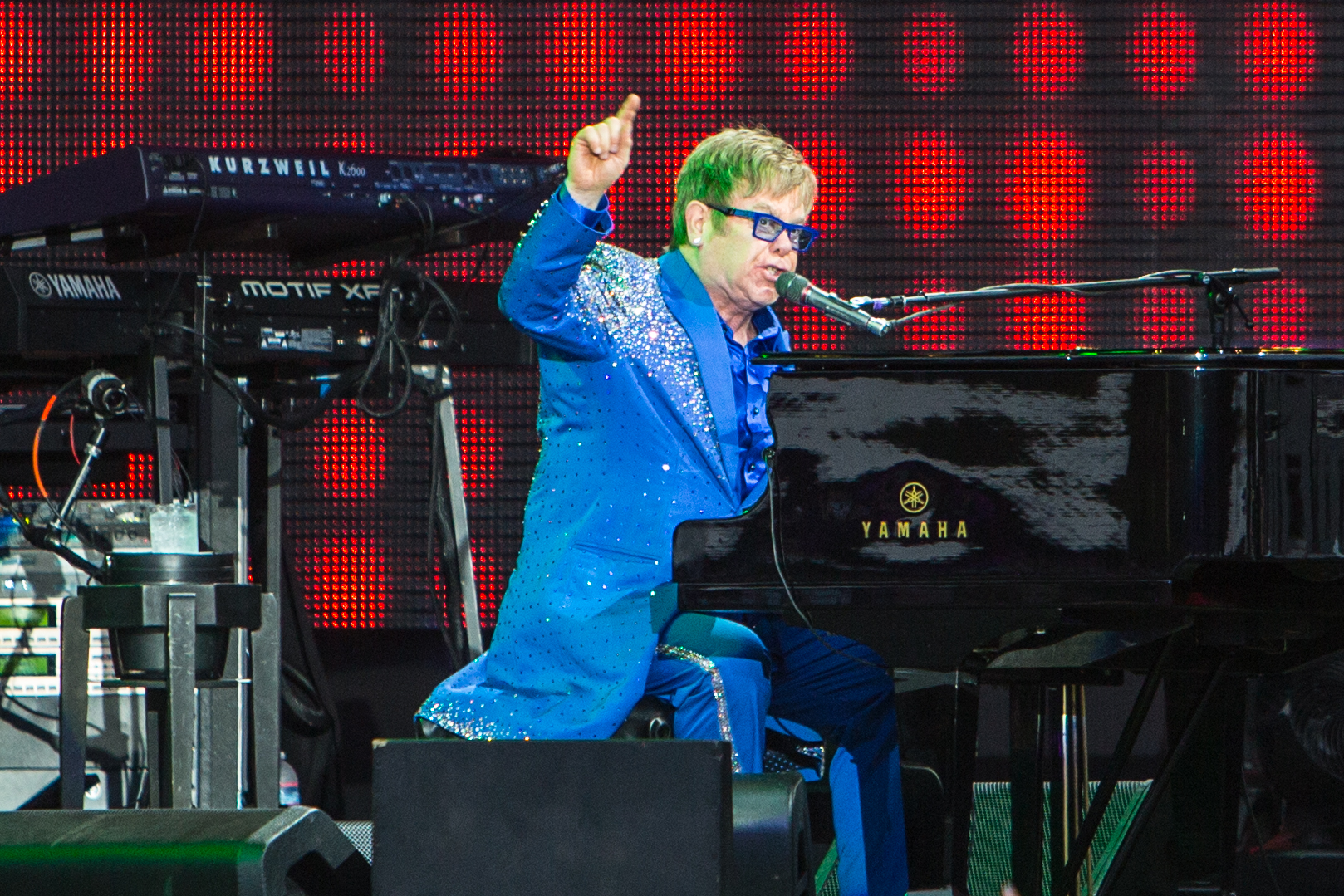 Elton John, Photo by Philip Cosores