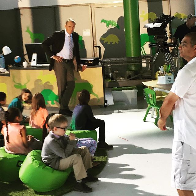 11296782 413932948798692 2051316372 n Its not a tumor! Dolph Lundgren is currently filming Kindergarten Cop 2