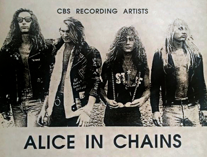 newly found footage captures alice in chains playing small college show in 1989 watch. Black Bedroom Furniture Sets. Home Design Ideas