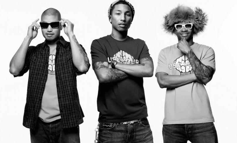 Pharrell shares unreleased N E R D  song