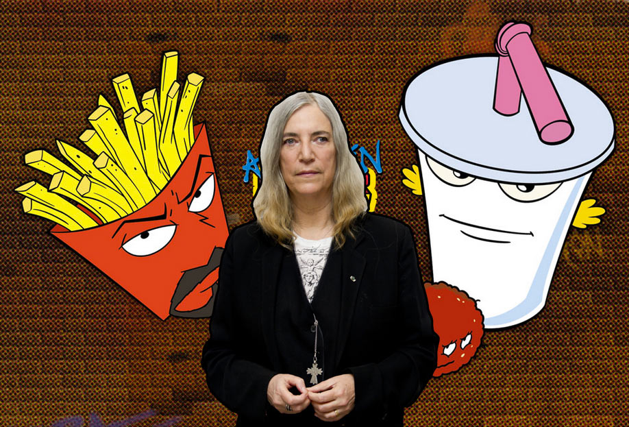 1a372a5ea70 Patti Smith elegizes Aqua Teen Hunger Force with series finale song —  listen