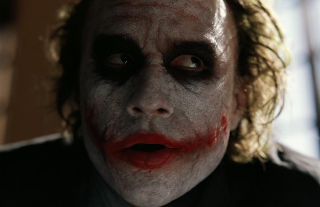 Dark knight joker actor