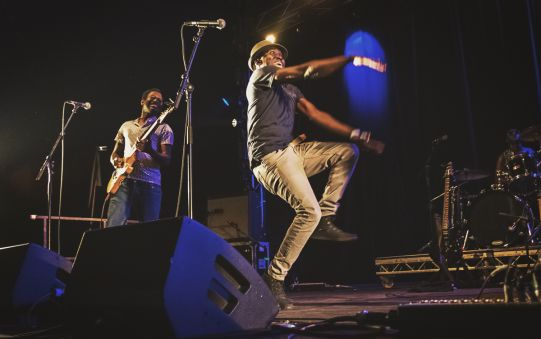 Songhoy Blues // Photo by Autumn Andel