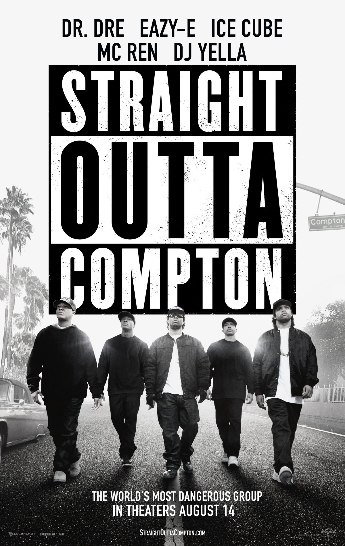 straight outta compton one sheet large 1200 1900 81 s Straight Outta Compton and the New Musical Biopic