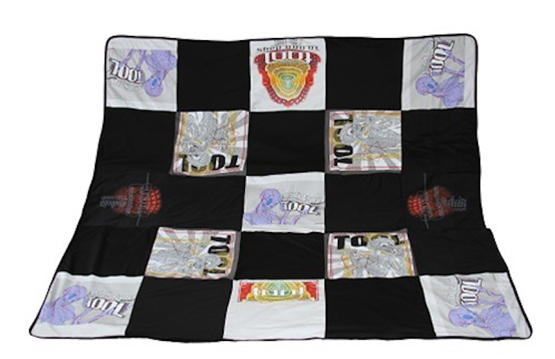 tool blanket 1 Tool havent released a new album in almost 10 years, but they *are* selling $200 blankets