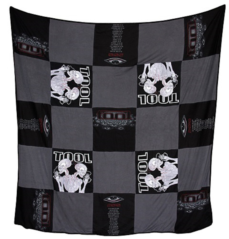 tool blanket 2 Tool havent released a new album in almost 10 years, but they *are* selling $200 blankets